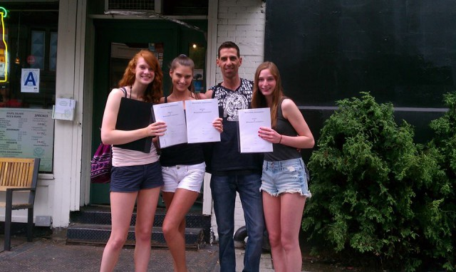 Heather Yeager Colleen Cuthbertson Emilie Kennedy all sign with Major Models NY !!