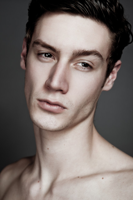Our handsome Kyle signs with Major Models New York