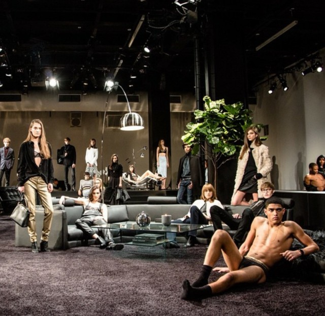 Fall 2015 Calvin Klein White Label Press Release  with Calvin Klein Model Torin Verdone