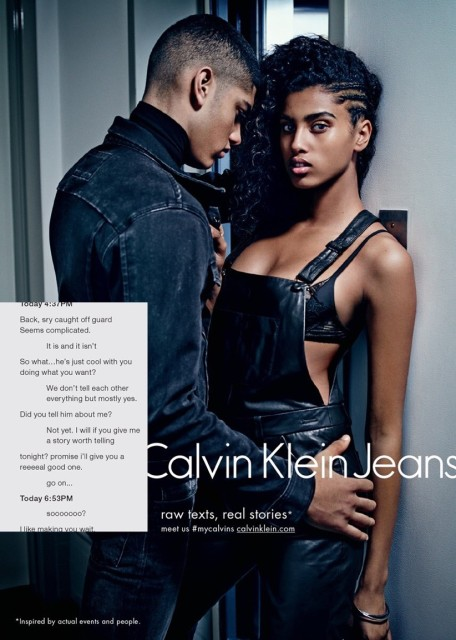 Torin Verdone for @calvinkleinjeans campaign FW/15 by Mario Sorrenti