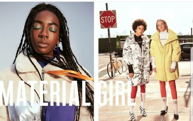 Lauren Hall for Material Girl FW17 Campaign