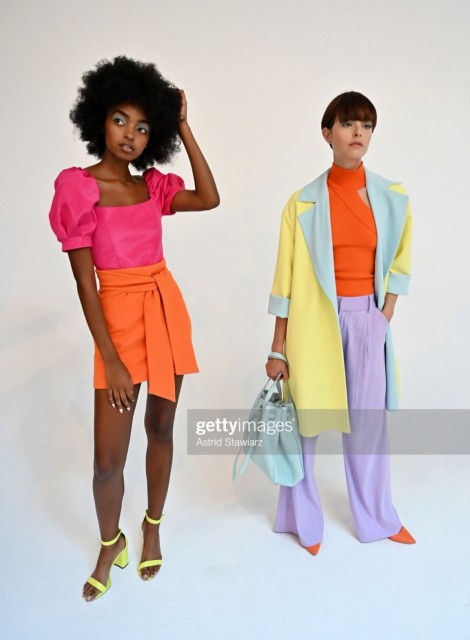 Onah Iya for Alice & Olivia NYFW SS20 Presentation