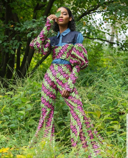 "Seantel Hypolite in ""The Tribe"" for Fashion 360 Magazine"