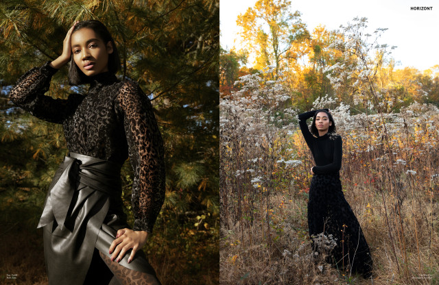 "Seantel Hypolite = ""Last Day of Winter""for Horint T Magazine by Xang Photography Mua - Ashley Briscoe"